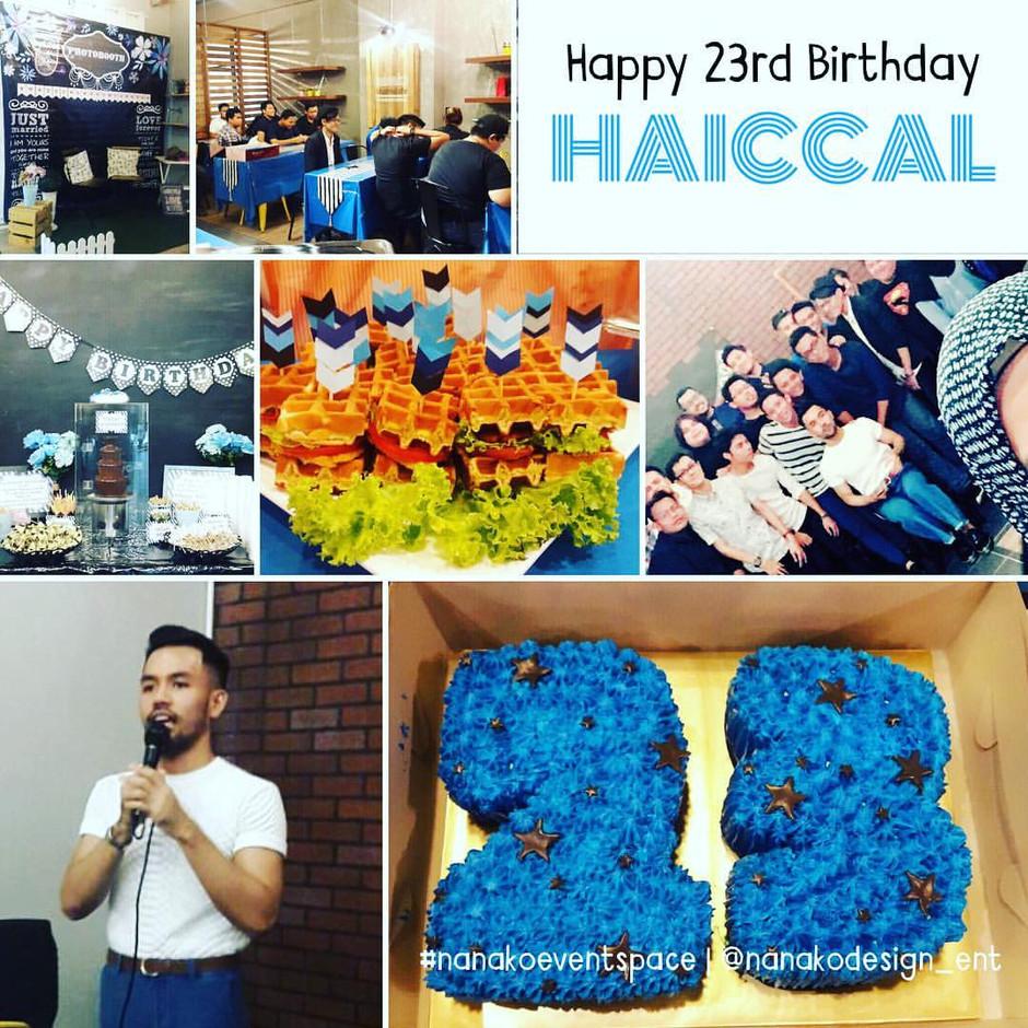 Happy Birthday Haiccal!!