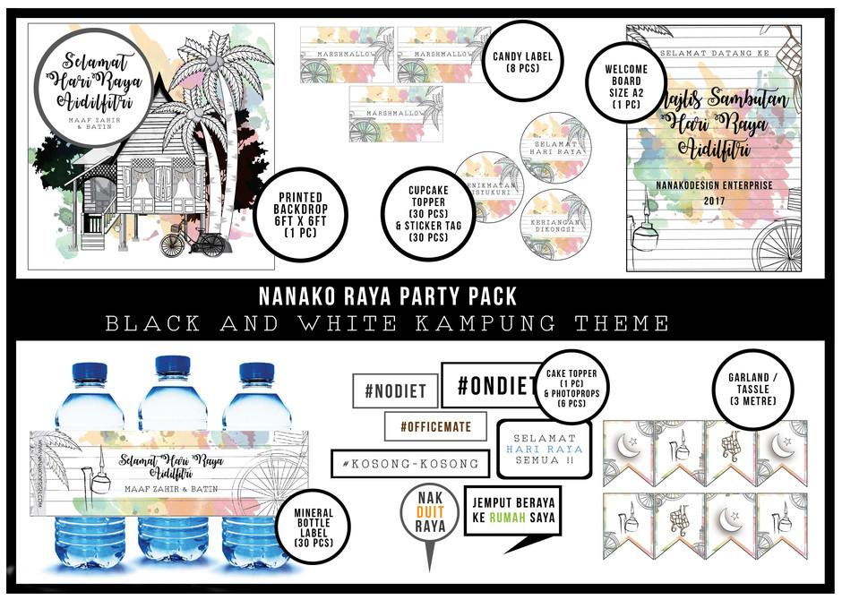 NANAKO DIY PARTY PACK : RAMADAN COLLECTION