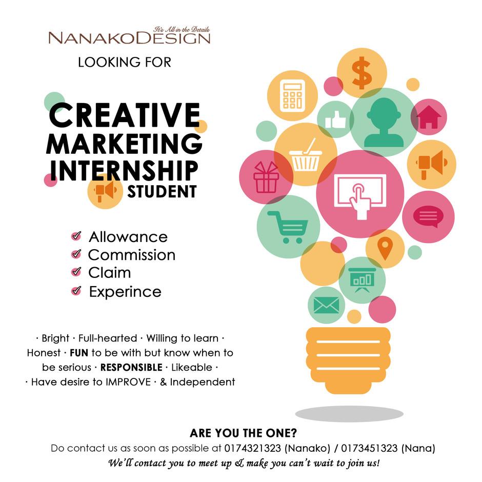 NANAKODESIGN : LOOKING FOR INTERNSHIP STUDENT