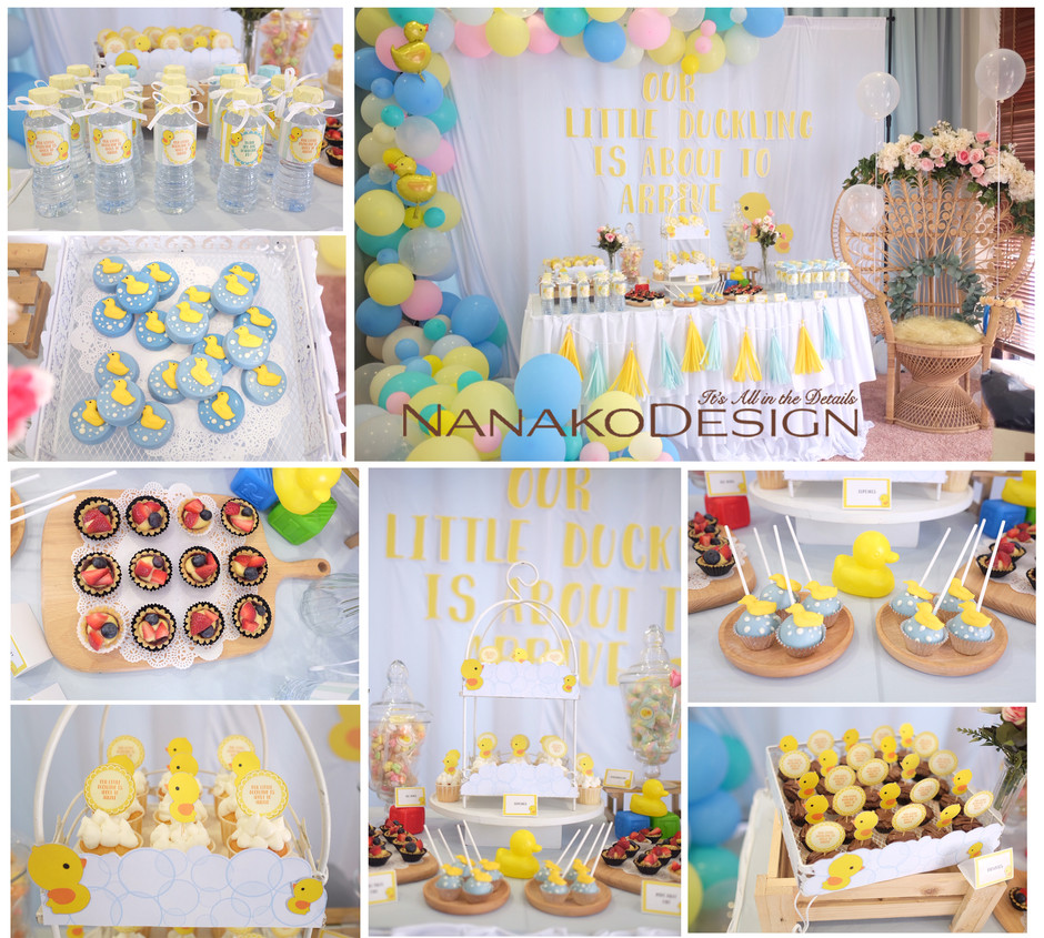 NANAKODESIGN - BABY SHOWER LITTLE DUCKS THEME