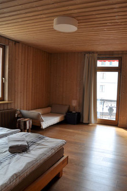 """""""Rosatsch"""" double or three bed room"""