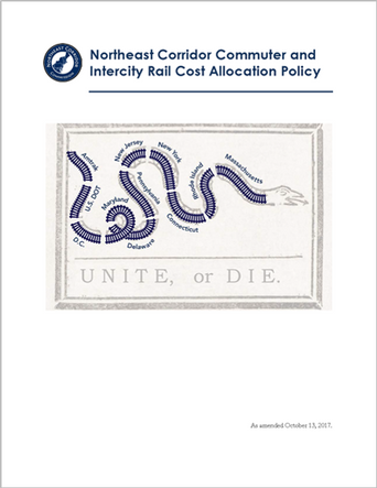 Northeast Corridor Commuter and Intercity Rail Cost Allocation Policy (October 1, 2020)