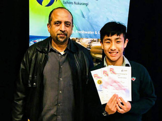 YEW Student WINS FIRST PRIZE at NIWA Science Fair