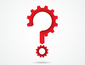 gear-question-mark-on-background-vector-
