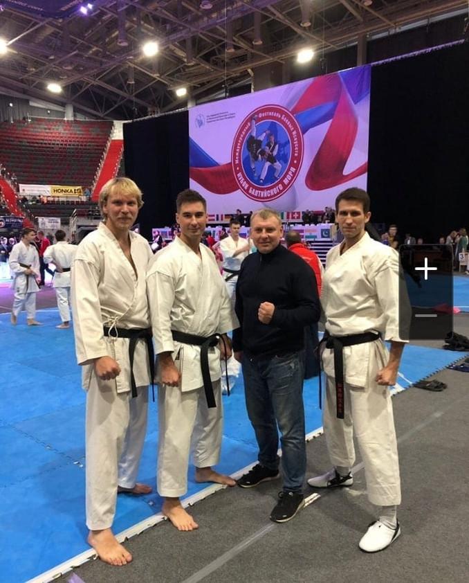 Команда Кобудо Санкт-Петербурга на Фестивале боевых искусств «Кубок Балтийского моря»