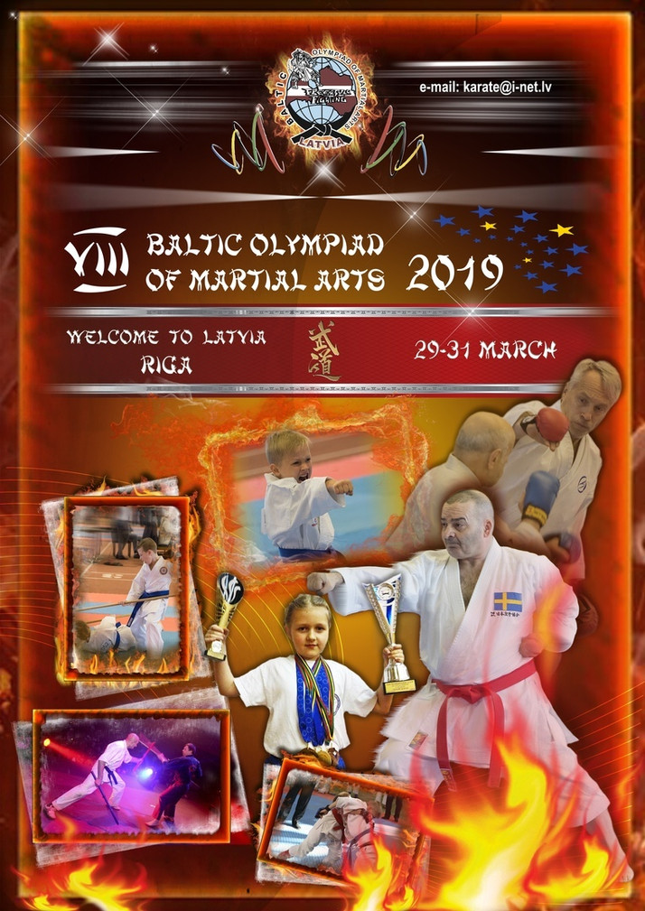 XVIII Балтийская Олимпиада единоборств в Риге (Латвия)