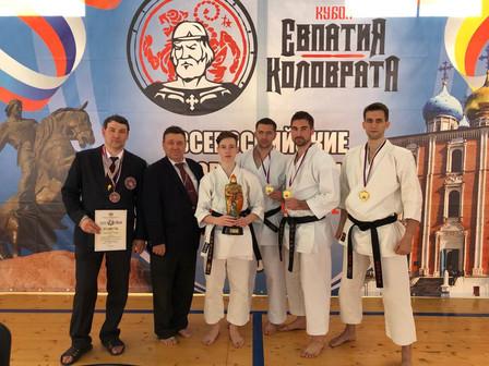 Спортсмены с берегов Невы достойно выступили на Всероссийских соревнованиях по восточному боевому ед