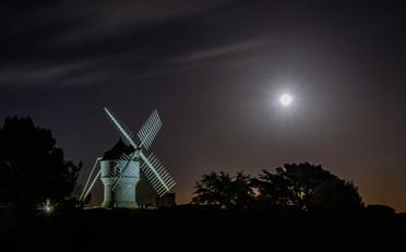 Le moulin du diable et sa pleine lune