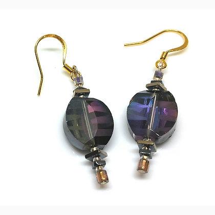 Purple Shade Earrings