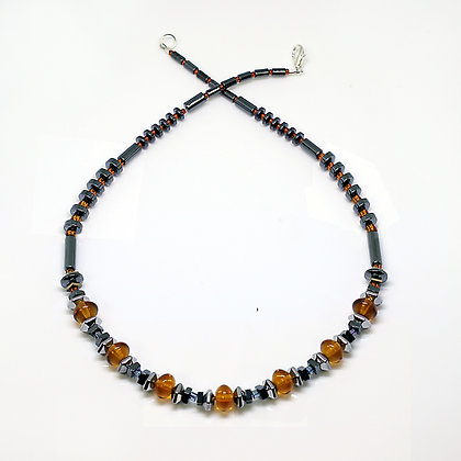 Rondell Amber Necklace