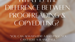 What is the Difference Between Proofreading & Copyediting?