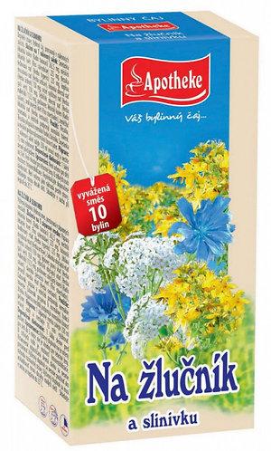 Apotheke Na žlučník a slinivku čaj 20x1.5g