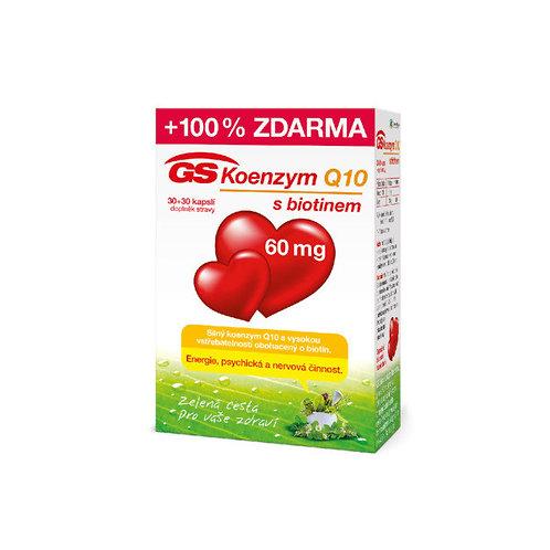 GS Koenzym Q10 60mg 60 kapslí