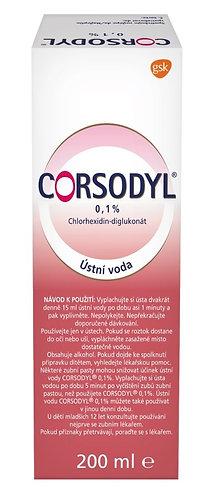 Corsodyl ústní voda 0.1% 200 ml