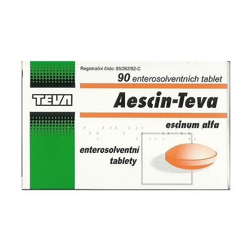 AESCIN TEVA 20mg 90 enterosolventních tablet