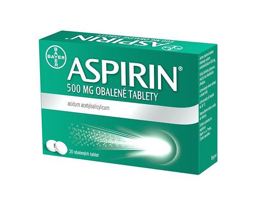 ASPIRIN 500 mg obalené tablety 20