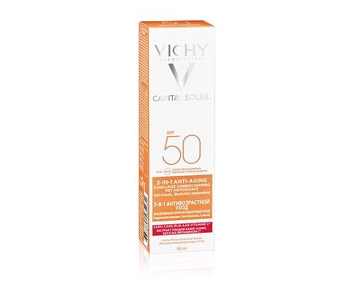 VICHY CAPITAL SOLEIL - Anti-age krém SPF 50 50ml