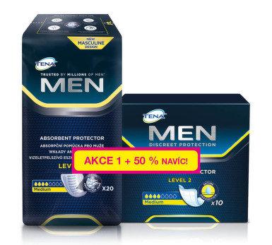 TENA Men Level 2 +50% navíc 30 ks