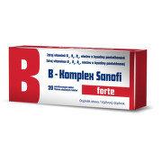 B-Komplex forte Sanofi 20 tablet