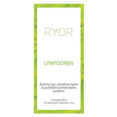 RYOR Lymfodren bylinný čaj 20 sáčků