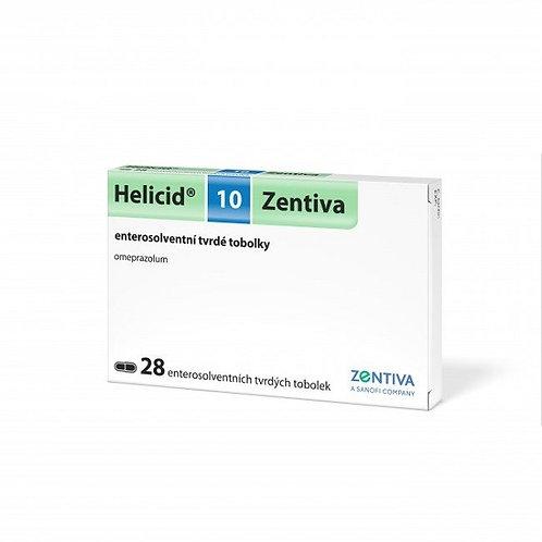 HELICID 10 mg enterosolventní tvrdé tobolky 28 ks