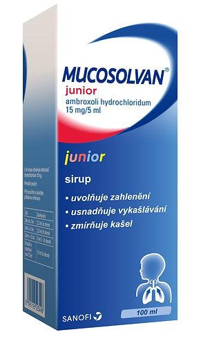 MUCOSOLVAN JUNIOR 3MG/ML sirup 100 ml