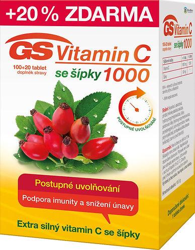 GS Vitamin C 1000 mg se šípky