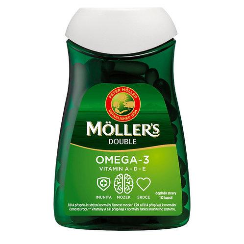 Möller's Omega 3 Double 112 kapslí