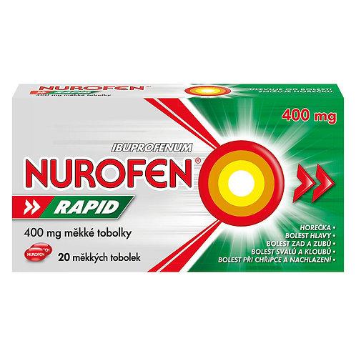 NUROFEN RAPID 400MG měkké tobolky 20 ks