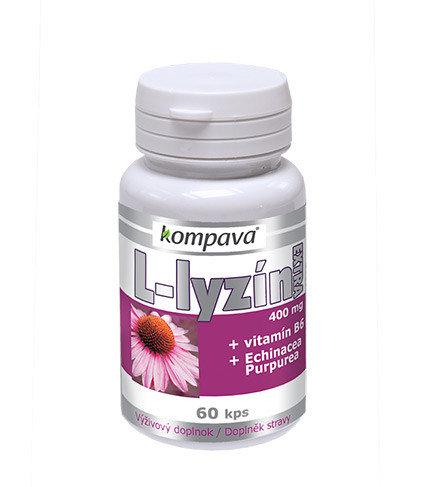 L-lyzín extra 400 mg 60 kapslí