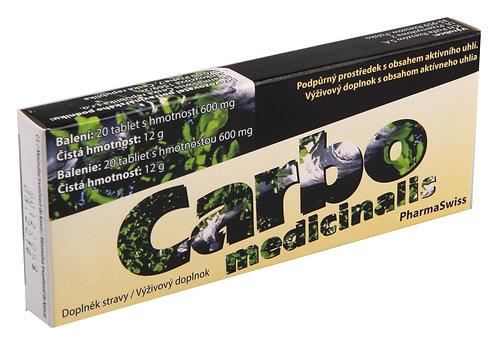 Carbo medicinalis 20 tablet