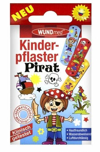 Náplast WUNDmed dětská BOYS - Piráti 10ks
