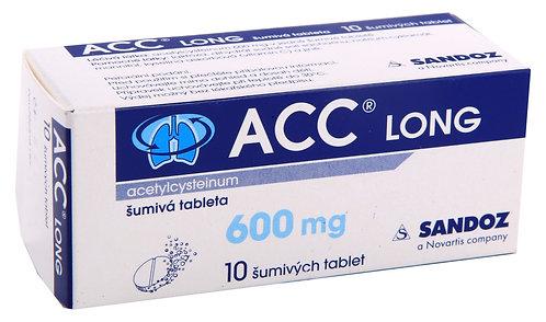ACC LONG 600 mg šumivé tablety