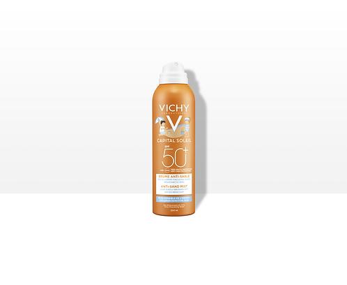 VICHY CAPITAL SOLEIL - Jemný sprej pro děti odpuzující písek SPF 50+ 200ml