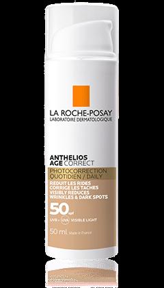 LA ROCHE-POSAY ANTHELIOS AGE Correct CC Cream tónovaný  SPF50 50 ml