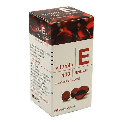 VITAMIN E ZENTIVA 400 mg 30 měkkých tobolek