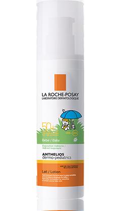 LA ROCHE-POSAY ANTHELIOS dermo pediatric mléko pro miminka SPF50+ 50ml
