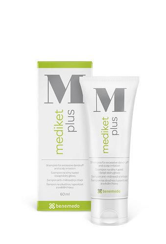 Mediket Plus šampon suché a mastné lupy 60 ml