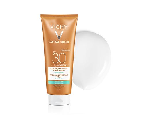 VICHY CAPITAL SOLEIL- Ochranné mléko SPF 30 300ml Vysoká ochrana