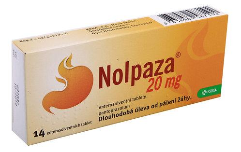 NOLPAZA 20MG enterosolventní tablety 14 ks