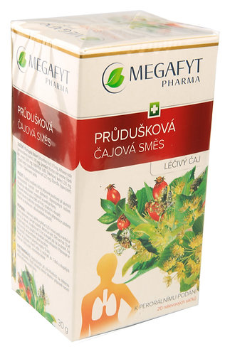 MEGAFYT PRŮDUŠKOVÁ ČAJOVÁ SMĚS léčivý čaj 20x1,5 g