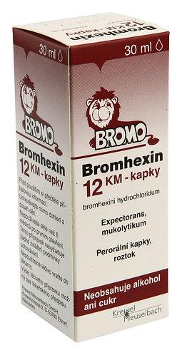 BROMHEXIN kapky 30 ml