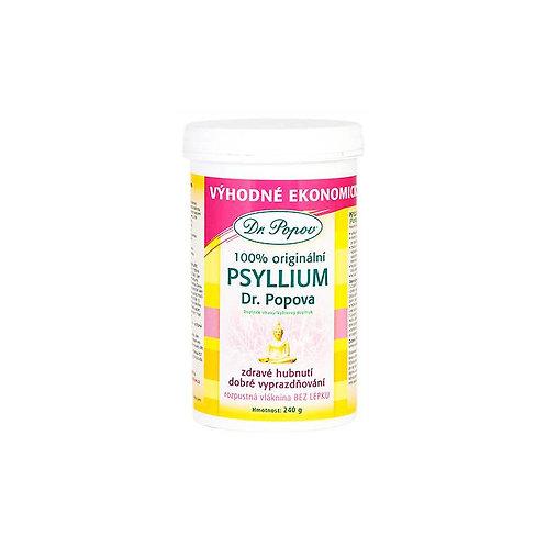 Dr.Popov Psyllium indická rozpustná vláknina 240 g
