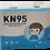 Thumbnail: Respirátor dětský KN95 - 10 ks