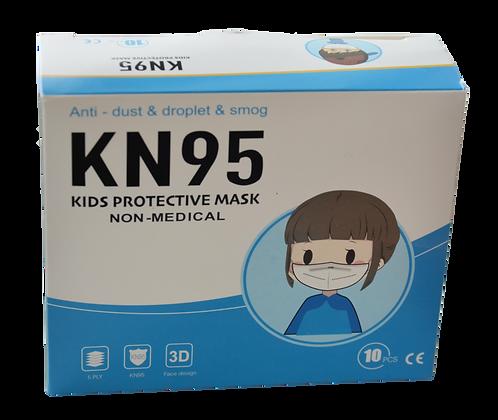 Respirátor dětský KN95 - 10 ks