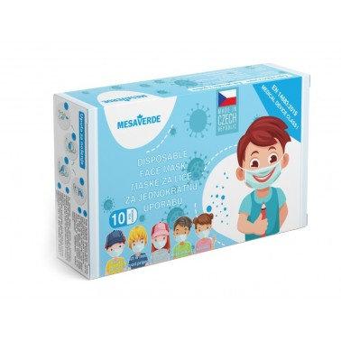 Dětská jednorázová rouška kluk - 10 ks