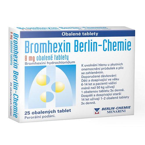 BROMHEXIN BERLIN-CHEMIE 8 mg 25 tablet