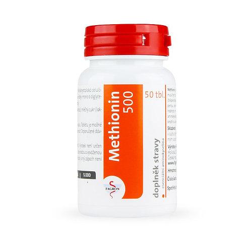 Methionin 500 tablety 50 ks