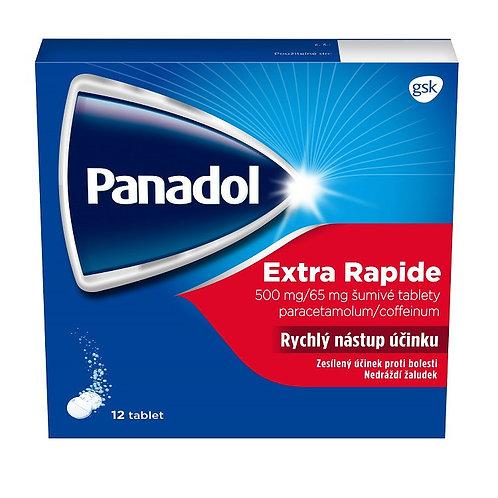Panadol Extra Rapide 12 šumivých tablet