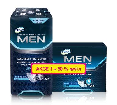 TENA Men Level 1 +50% navíc 36 ks